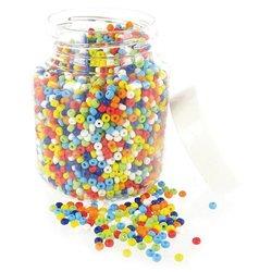 Boîte de 500 grammes perles de rocaille