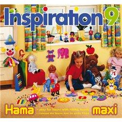 Livre d'idées inspiration 9 perles hama maxi