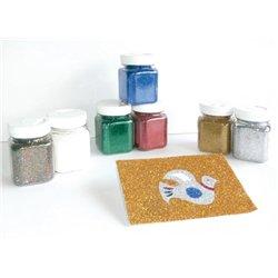 Pot 100g paillettes scintillantes - bleu