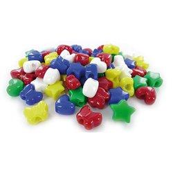Sachet 500 perles plastique