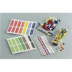 Pochette 10 planches de 96 mosaïques adhésives