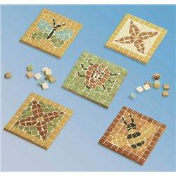 Atelier créatif de mosaïques - dessous de verre 9x9 cm
