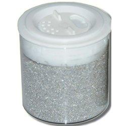 Pot de 100 g de sable coloré - argent