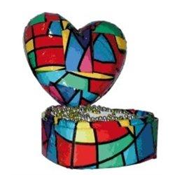 Boîte à décorer 13 cm styropor - cœur
