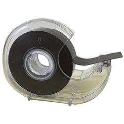 Dévidoir bande magnétique et adhésive 19 mm x 7 m