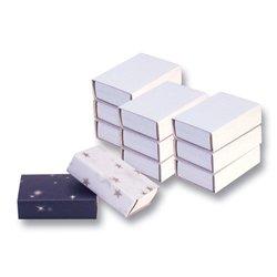 Boîte d'allumettes blanches vides pour décoration (Lot de 10)