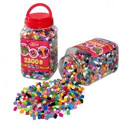 Baril de 2300 perles à chauffer hama maxi