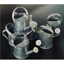 Arrosoir en zinc 60 x 120 x 60 mm (Lot de 6)