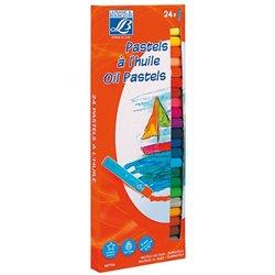 Boîte 24 pastels à l'huile Lefranc & Bourgeois