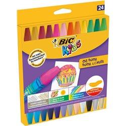 Etui 24 pastels à huile Bic Kids