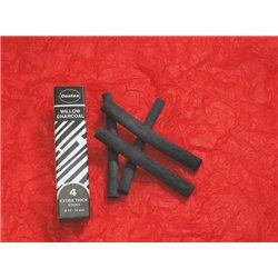 Gros fusain spécial maternelle diam: 12 mm (Boîte de 4)