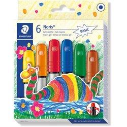 Boîte 6 craies gel couleurs classiques