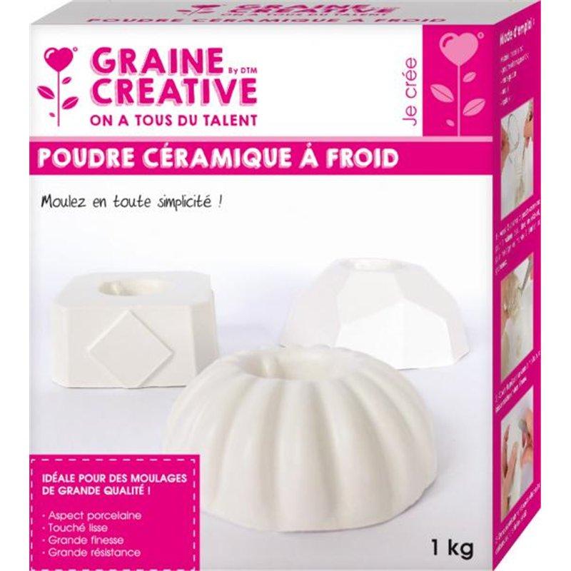 Sachet 1 kg poudre céramique
