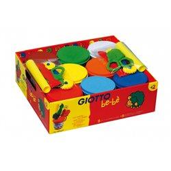 Schoolpack 8 pots 220g de pâte à jouer Giotto bébé