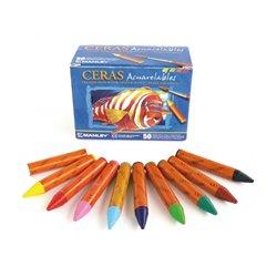 Boîte 50 aqua pastels