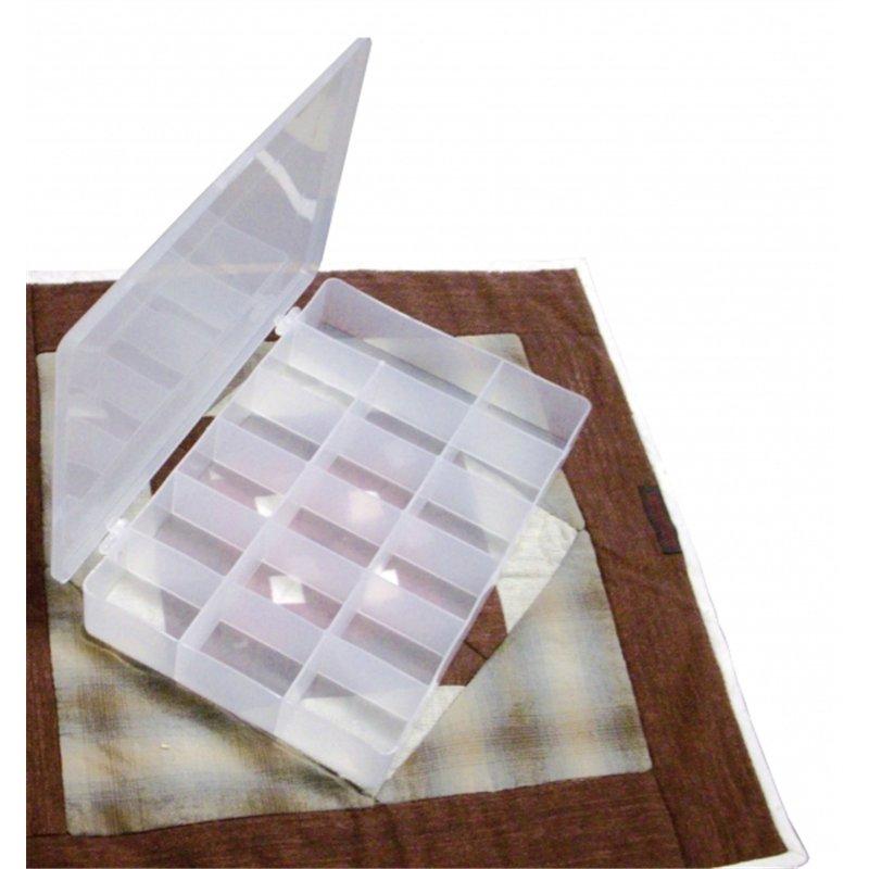 Boite de rangement plastique 17 cases