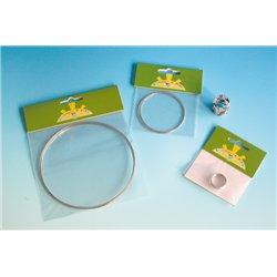 Bracelet fil mémoire acier, 5 tours