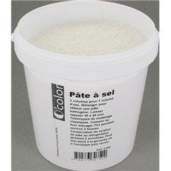 Pot plastique de 1kg de pâte à sel