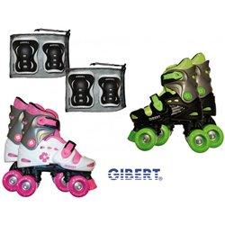 Le roller 4 roues Gibert + frein avant