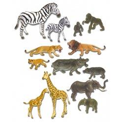 Les animaux de la jungle et leurs petits
