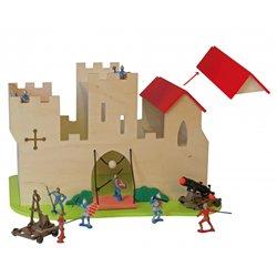 Le château fort du moyen-âge