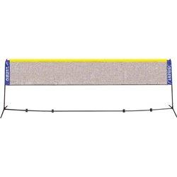 Ensemble poteaux/filet badminton à montage rapide