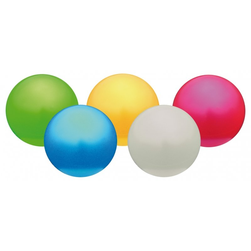 Lot 5 ballons de jeu 'éveil' PVC 12 cm