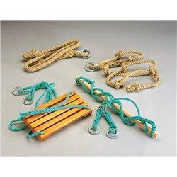 Corde à nœuds 2,70 m chanvre