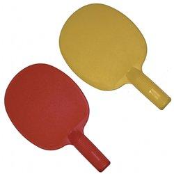 Set de 6 raquettes ping-pong plastique