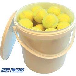 Seau de 30 balles de tennis