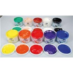 Set 10 pots 225 ml assortis - tactilcolor pébéo