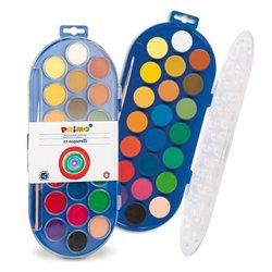 Boîte plastique de 22 godets pastilles ø 30 mm