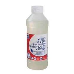 Flacon de 500 ml de vernis à l'eau lefranc & bourgeois