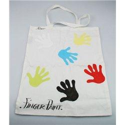 Sac shopping enfant en coton naturel 37 x 42 cm (Ensemble de 12)