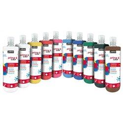 Assortiment 10 flacons 1 litre primacolor pebeo