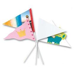 Fanion forme triangulaire (Lot de 20)