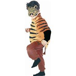 Tissu déguisement mini zoo - tigre