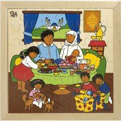Puzzle à thème la fête du ramadan