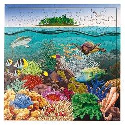 Puzzle des récifs coralliens
