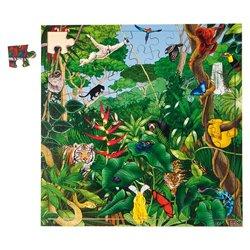 Puzzle de la forêt tropicale