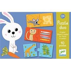 Puzzle duo à table
