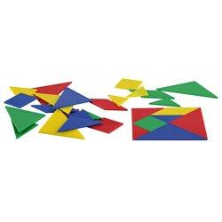 Lot de 4 tangrams