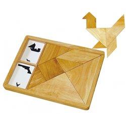 Grand tangram bois