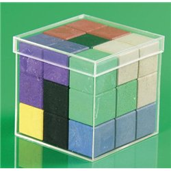 Soma cube en bois re-wood