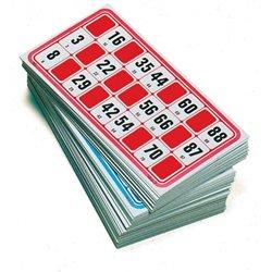 Sachet de 96 cartes de loto