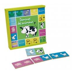 Dominos des animaux 28 pièces