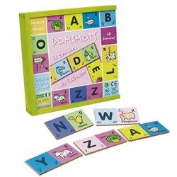 Domimots le domino de l'alphabet 28 pièces