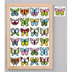 Jeu de loto des papillons