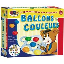 Ballons et couleurs