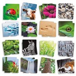 Grand memory tactile thème nature
